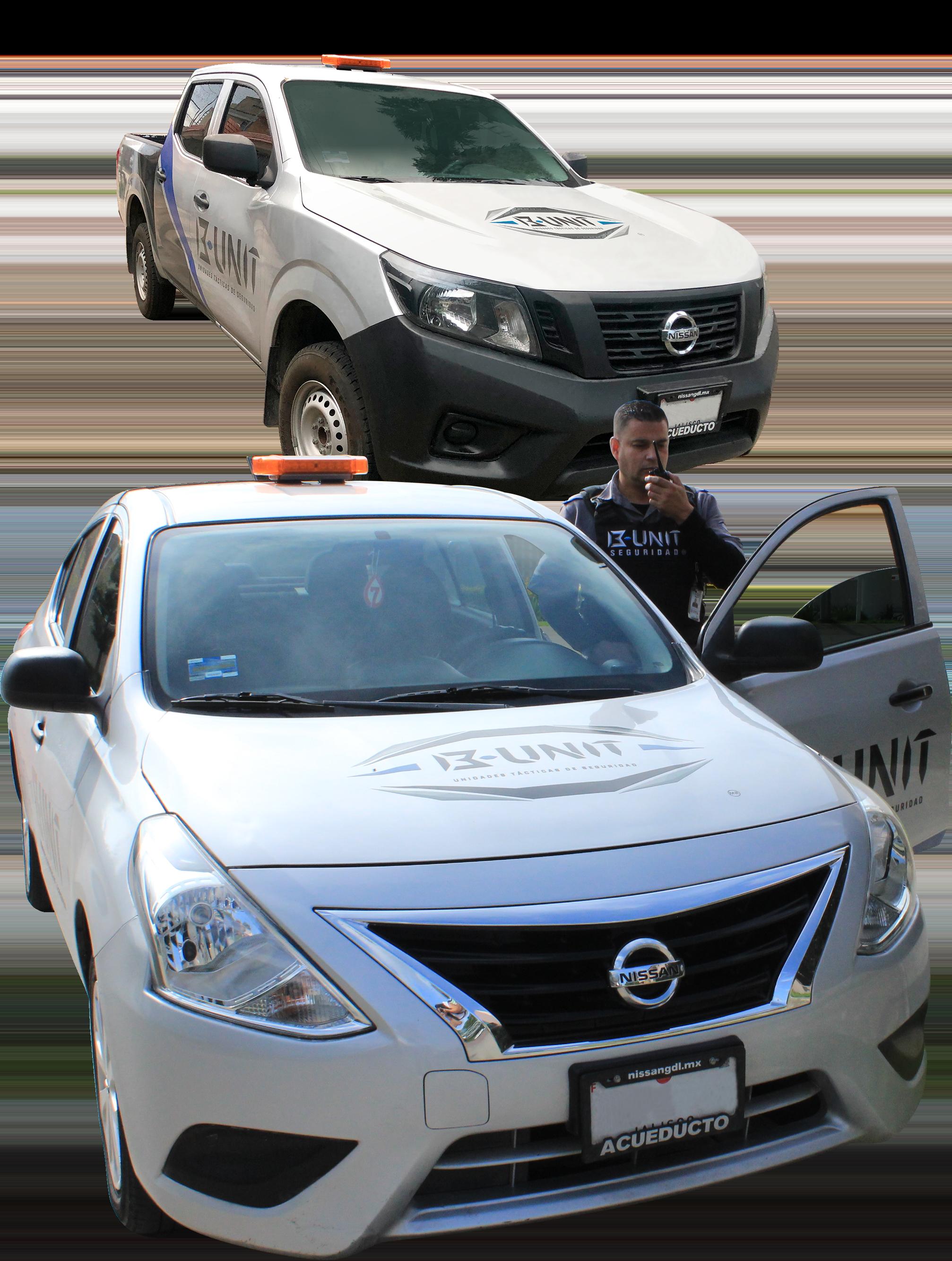 B UNIT elementos de seguridad elementos custodias autos