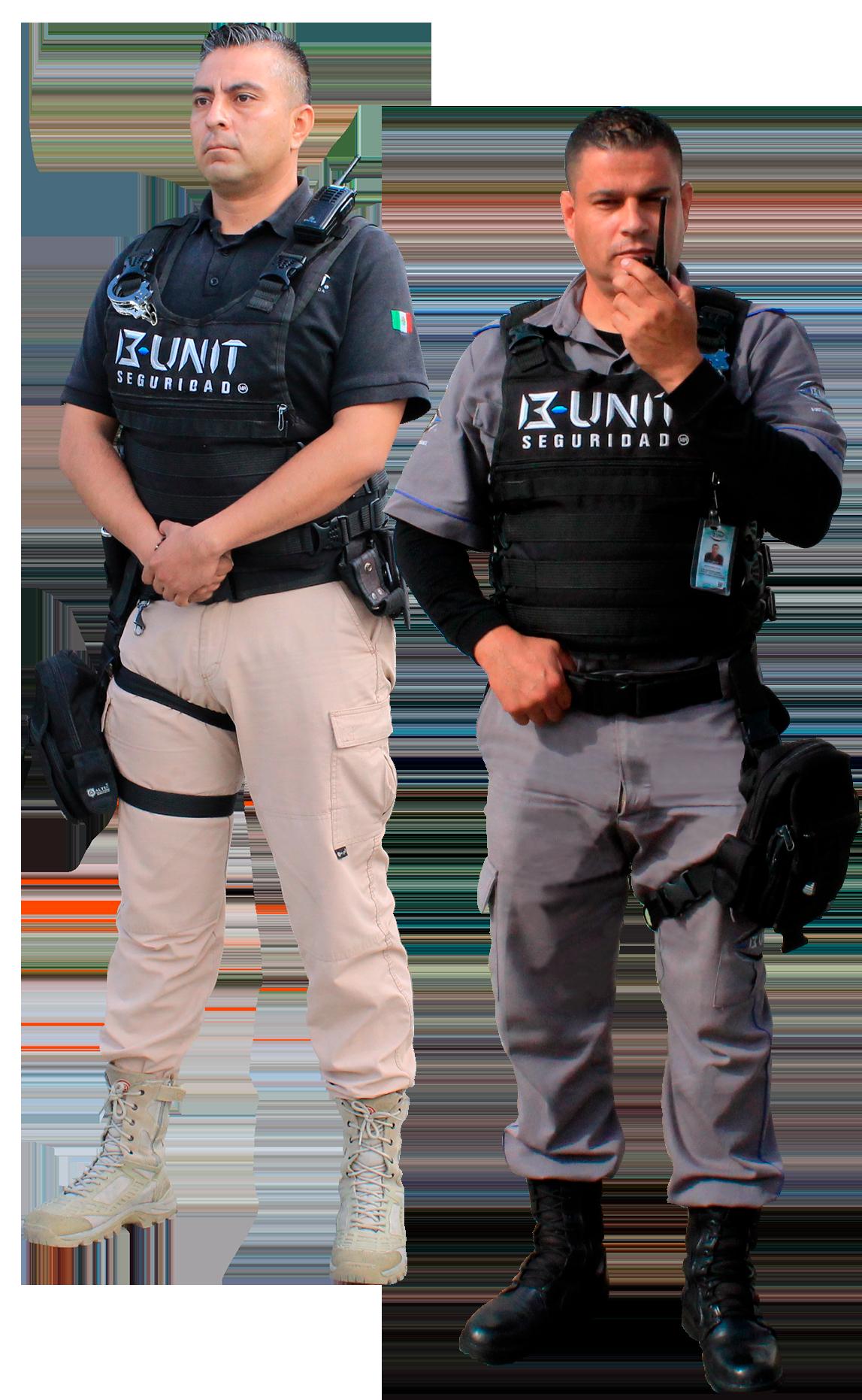B UNIT elementos de seguridad elemento equipado bunit